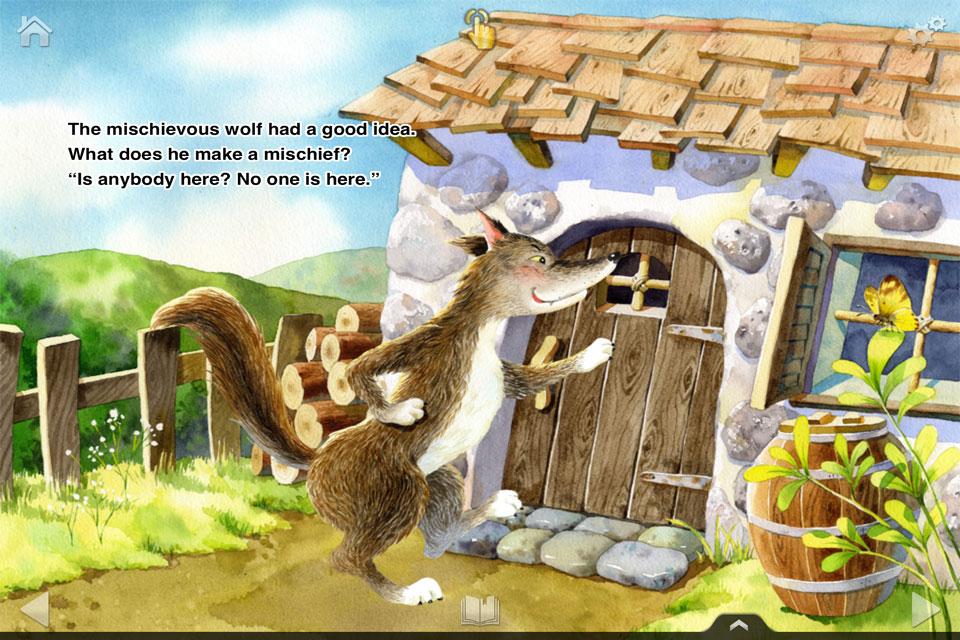 三只小猪   -可爱的小猪们盖房子时说谎话,鼻子变长了的木偶活灵活现